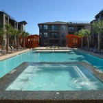 The Avery on Southwestern Apartment Pool Area