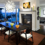 The Heights At Park Lane Flats Apartment Dining Room