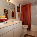 The Hill in the Village Apartment Bathroom