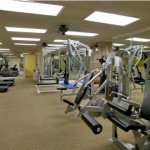 The Lakes in the Village Apartment Fitness Center