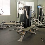 The Milo Apartment Fitness Center
