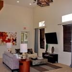 The Milo Apartment Living Area