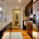 The Standard Apartment Model Kitchen