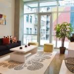 Third Rail Lofts Apartment Living Area