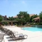 White Rock Lake Apartment Pool Area
